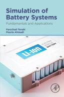 Simulation of Battery Systems Pdf/ePub eBook