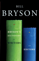 Pdf Bryson's Dictionary for Writers and Editors Telecharger