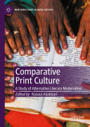 Pdf Comparative Print Culture