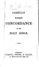 Cassell s Pocket Concordance to the Holy Bible