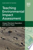 Teaching Environmental Impact Assessment