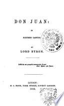 Don Juan in Sixteen Cantos