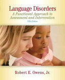 Cover of Language Disorders