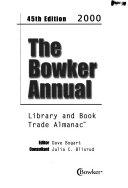 The Bowker Annual 2000