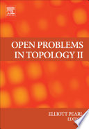 Open Problems in Topology II Book
