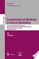 Computational Methods in Neural Modeling