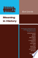 Read Online Meaning in History For Free