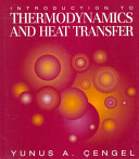 Cover of Introduction to Thermodynamics and Heat Transfer