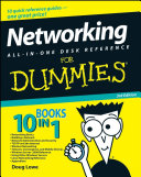 Networking All-in-One Desk Reference For Dummies ebook