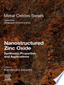 Nanostructured Zinc Oxide Book PDF
