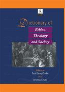 Dictionary of Ethics, Theology and Society Pdf/ePub eBook