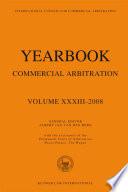 Yearbook Commercial Arbitration Volume Xxxiii 2008