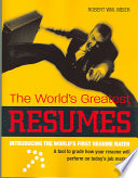 The World's Greatest Resumes
