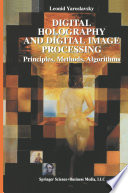 Digital Holography and Digital Image Processing Book