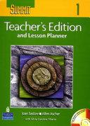 Summit 1(Teacher's Edition and Lesson Planner)(CD1장포함)