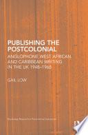 Publishing the Postcolonial