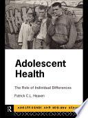 Adolescent Health Book