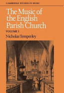 The Music of the English Parish Church: