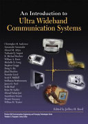 Introduction to Ultra Wideband Communication Systems, An (paperback)