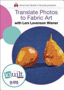 Translate Photos to Fabric Art