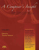 A Composer's Insight: Timothy Broege