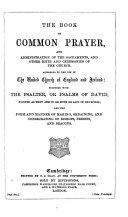 The Prayer Book Interleaved ... Fifth Edition