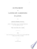 Landscape Gardening in Japan