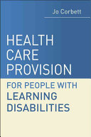 Health Care Provision And People With Learning Disabilities Book PDF