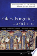 Fakes, Forgeries, and Fictions