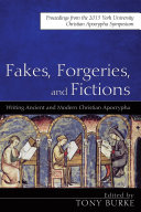 Fakes  Forgeries  and Fictions