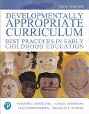 Developmentally Appropriate Curriculum
