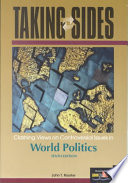 Taking Sides  : Clashing Views on Controversial Issues in World Politics