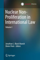 Nuclear Non-Proliferation in International Law -