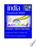 India Yearbook MCQ for UPSC Civil Services Examination 2020