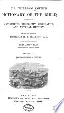 Dr  William Smith s Dictionary of the Bible Book
