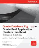 Oracle Database 11g Oracle Real Application Clusters Handbook, 2nd Edition [Pdf/ePub] eBook