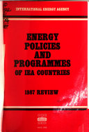 Energy Policies and Programmes of IEA Countries  Review
