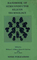 Handbook of Semiconductor Silicon Technology Book