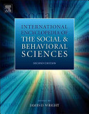 International Encyclopedia of the Social   Behavioral Sciences