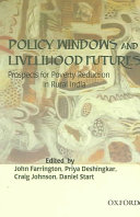 Policy Windows and Livelihood Futures Book