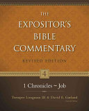 The Expositor S Bible Commentary 1 Chronicles Job