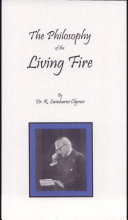 Pdf Philosophy of the Living Fire