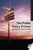 Cover of The Public Policy Primer