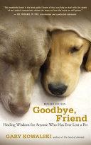 Goodbye, Friend ebook