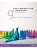 Auditing, Assurance Services and Ethics in Australia