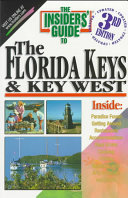 The Insiders Guide To The Florida Keys And Key West Book PDF