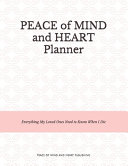 Peace of Mind and Heart Planner