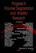 Progress in Polymer Degradation and Stability Research