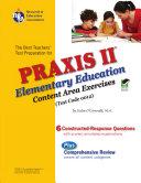 PRAXIS II Elementary Ed: Content Area Exercises [0012]