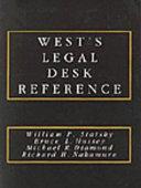 West S Legal Desk Reference